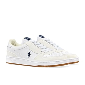 Scarpe Polo Ralph Lauren Polo Court - White Navy