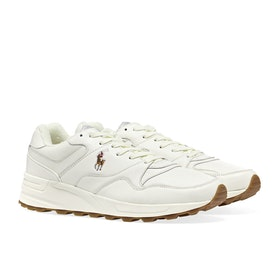 Scarpe Polo Ralph Lauren Trackster Pony - Off White