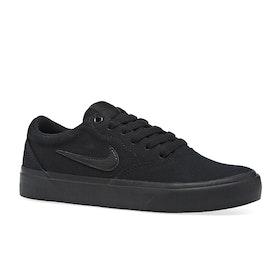 Chaussures Nike SB Charge Canvas - Black Black Black