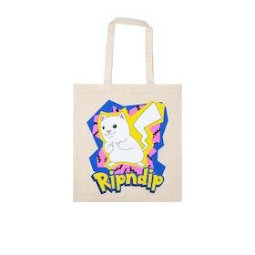 Rip N Dip Catch Em All Tote Bag Shopper Bag - Natural