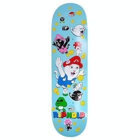 Rip N Dip Nermio 8 Inch Skateboard Deck - Blue