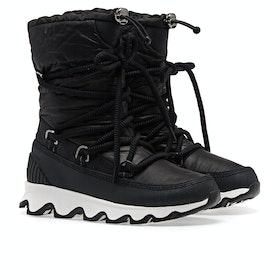 Sorel Kinetic Textile Damen Stiefel - Black,white