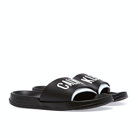 Calvin Klein Intense Sliders - Black White
