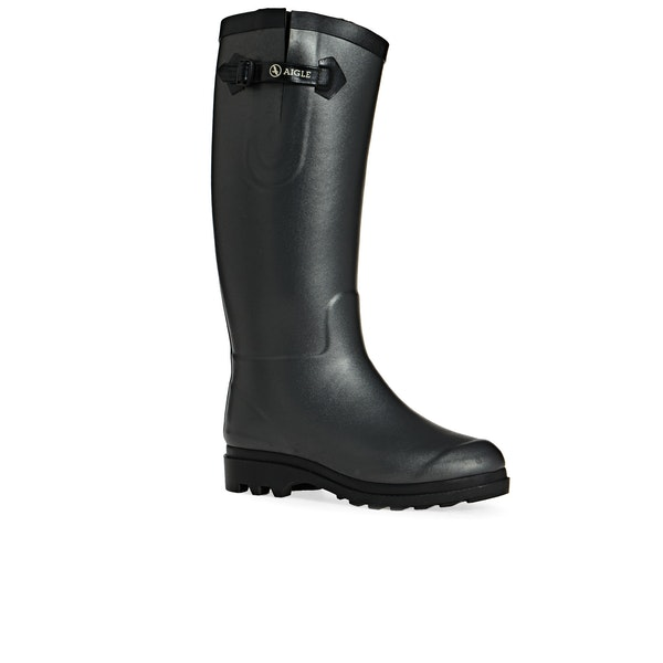 Aigle Aiglentine Faux Fur Lined Women's Wellington Boots