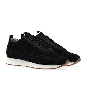 Grenson Sneaker 12 Men's Shoes - Black Suede