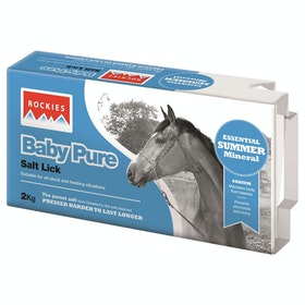 Rockies Baby Pure Salt Lick - White