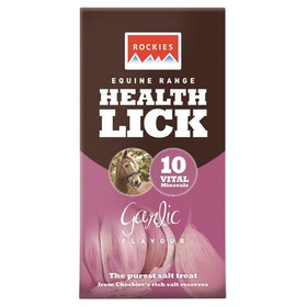 Rockies Health Lick - Garlic