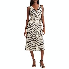 Платье Lauren Ralph Lauren Olena Day - Cream/brown/multi