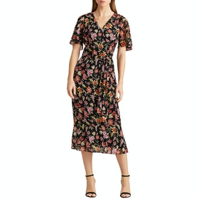 Платье Lauren Ralph Lauren Oleander Day - Black/pink/multi