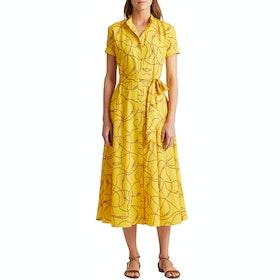 Платье Lauren Ralph Lauren Kurko Casual - Dandelion Fields Multi