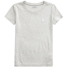 Ralph Lauren Plain Knit Girl's Short Sleeve T-Shirt