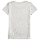 Polo Ralph Lauren Plain Knit Girl's Short Sleeve T-Shirt