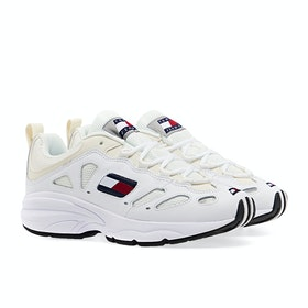 Tommy Jeans Retro Women's Shoes - White