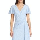 Lauren Ralph Lauren Ezra Print Crepe Dress