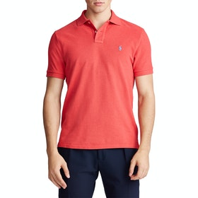 Koszulka polo Polo Ralph Lauren Basic Mesh Small Logo - Red