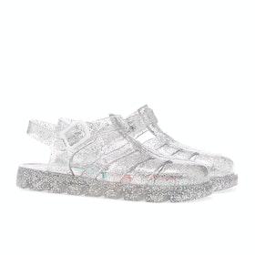 Sandały Dziecięce Joules Jelly Shoe - Metallic Silver