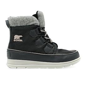 Sorel Explorer Carnival Boots - Dark Slate