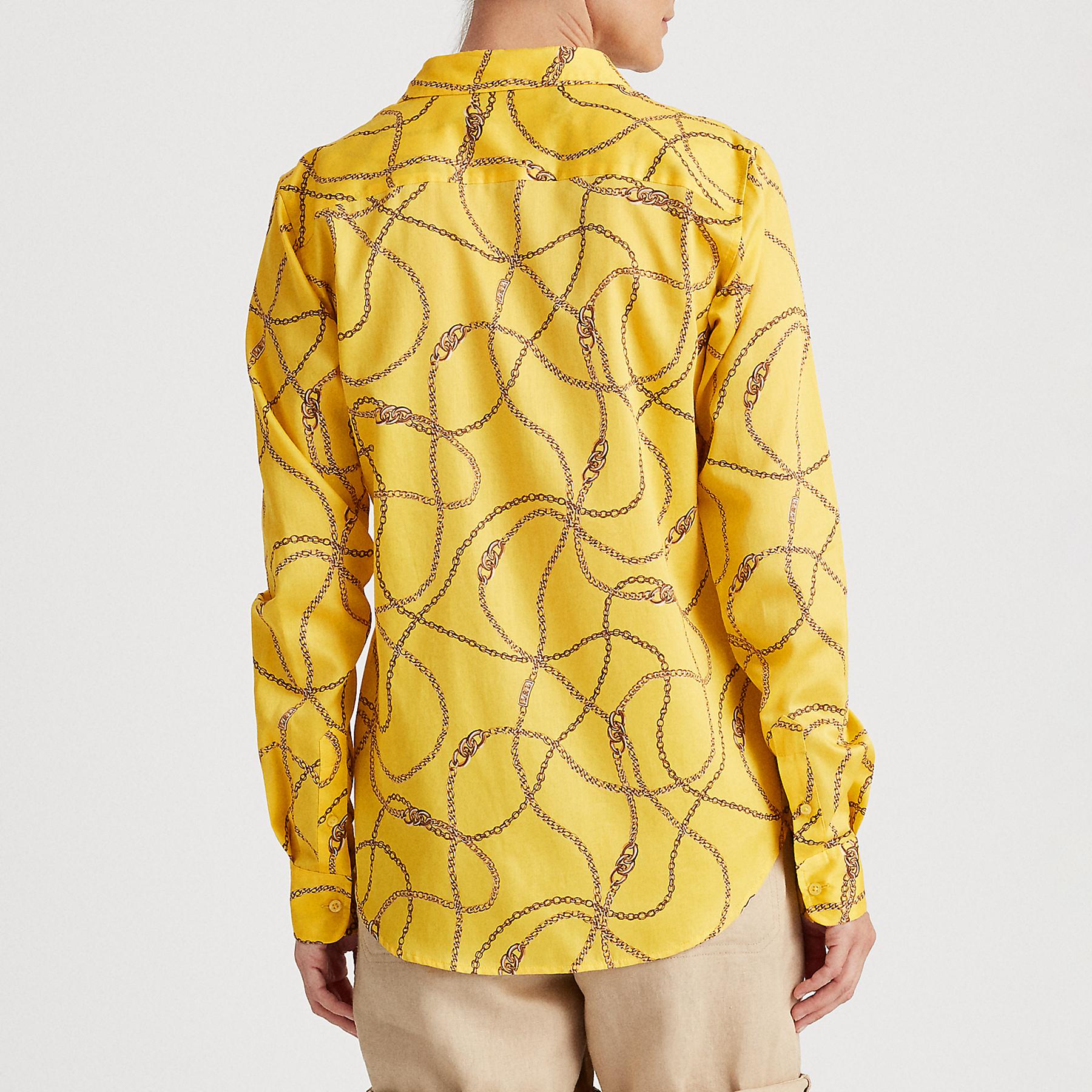 Camisa Mujer Lauren Ralph Lauren Jamelko Dandelion Fields
