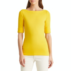 Lauren Ralph Lauren Judy Elbow Sleeve Dames Top - Dandelion Fields