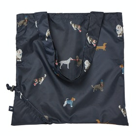 Joules Pac A Bag Ladies Shopper Bag - Mayday Dogs