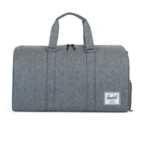 Herschel Novel Duffle Bag - Raven Crosshatch