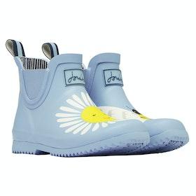 Stivali di Gomma Joules Jnr Wellibob - Blue Daisy Bee