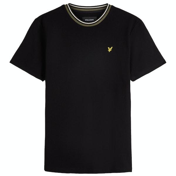 Lyle & Scott Multi Rib Herren Kurzarm-T-Shirt