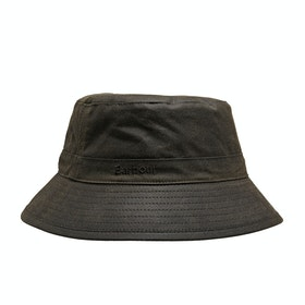 Barbour Wax Sports Men's Hat - Olive