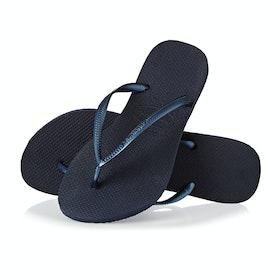 Havaianas Slim Damen Sandalen - Navy Blue