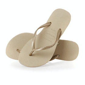 Havaianas Slim Damen Sandalen - Sand Grey Light Sand