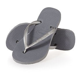 Havaianas Slim Kinder Sandalen - Steel Grey
