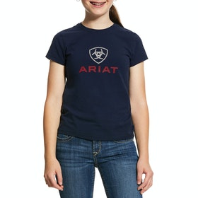Top Ariat Hd Logo - Navy