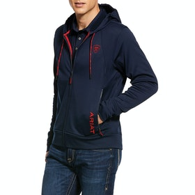 Ariat Keats Full Mens Zip Hoody - Team