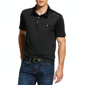 Ariat Norco Mens Polo Shirt - Black