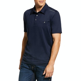 Ariat Norco Polo-Shirt - Navy