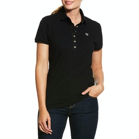 Ariat Prix 2.0 Ladies Polo Shirt - Black
