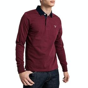 Gant The Original Heavy Polo Shirt - Port Red