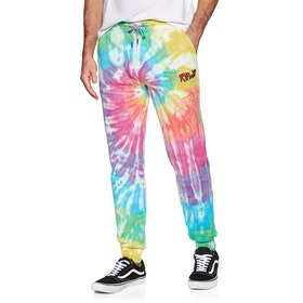 Rip N Dip Nerm & Jerm Show Jogging Pants - Rainbow Spiral Dye