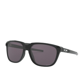 Oakley Anorak Prizm Sunglasses - Polished Black ~ Grey