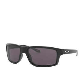 Oakley Gibston Prizm Sunglasses - Polished Black ~ Grey