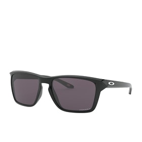 Oakley Sylas Prizm Sunglasses - Polished Black ~ Grey