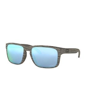 Oakley Holbrook Sunglasses - Woodgrain~prizm Deep H2o Polarized