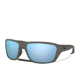 Oakley Split Shot Sunglasses - Woodgrain~prizm Deep H2o Polarized