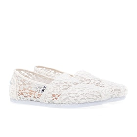 Toms Alpargata Lace Women's Slip On Trainers - White