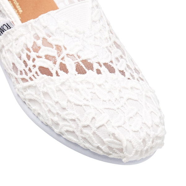 Toms Alpargata Lace Women's Slip On Trainers