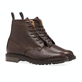 Sanders MIE Kelso Walnut Grain Derby Men's Boots - Walnut