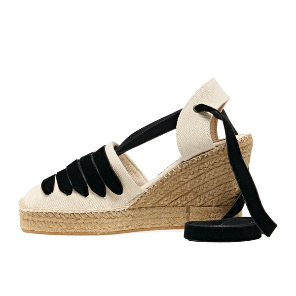 Penelope Chilvers High Sevillana Dali CA Exclusive Women's Espadrilles
