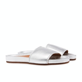Penelope Chilvers Sol Metallic Sliders - 005 Silver