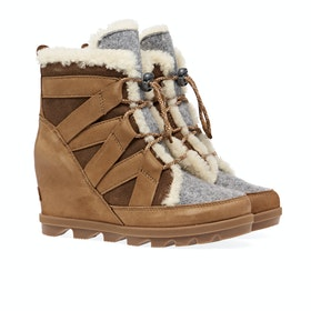 Sorel Joan Of Arctic Wedge II Cozy Stiefel - Camel Brown