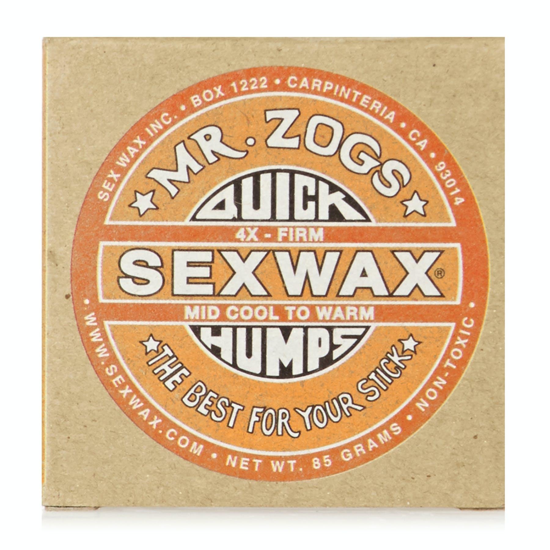 2 x Mr Zogs Sex Wax Quick Humps Surfboard Wax Block Warm to Mild Tropical